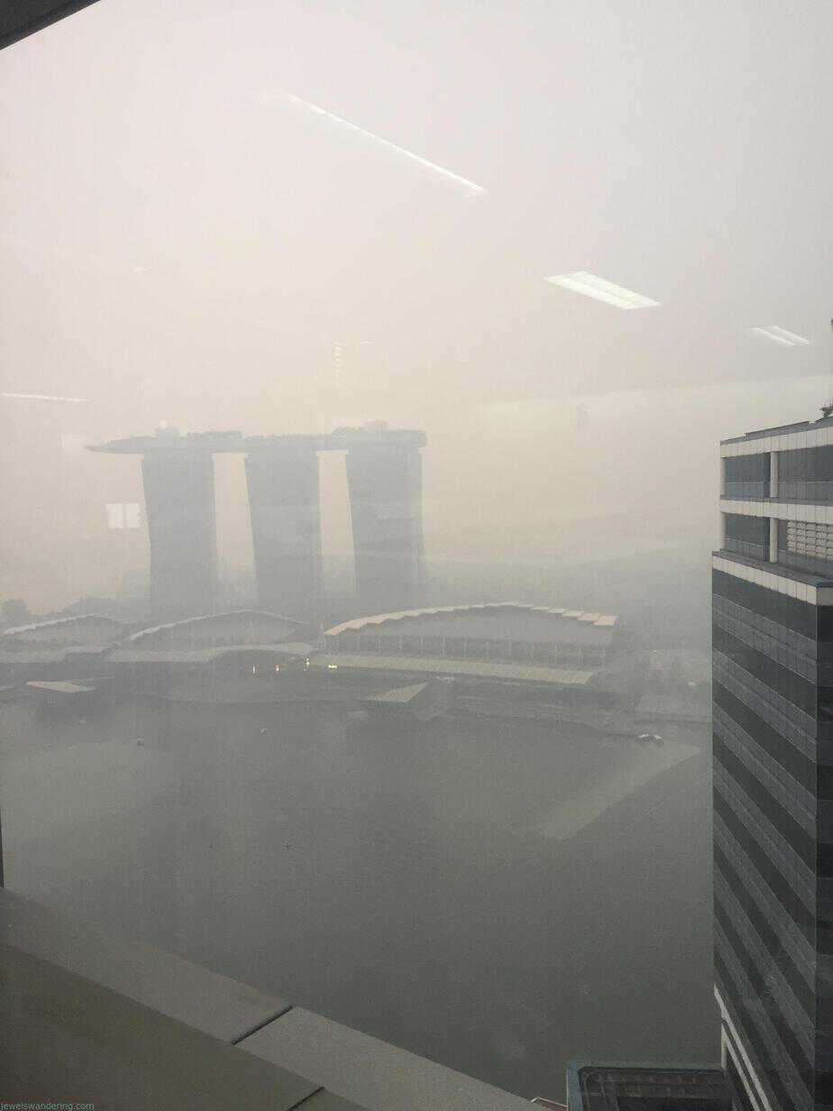 Haze, Singapore, Sumatra Burning Effects