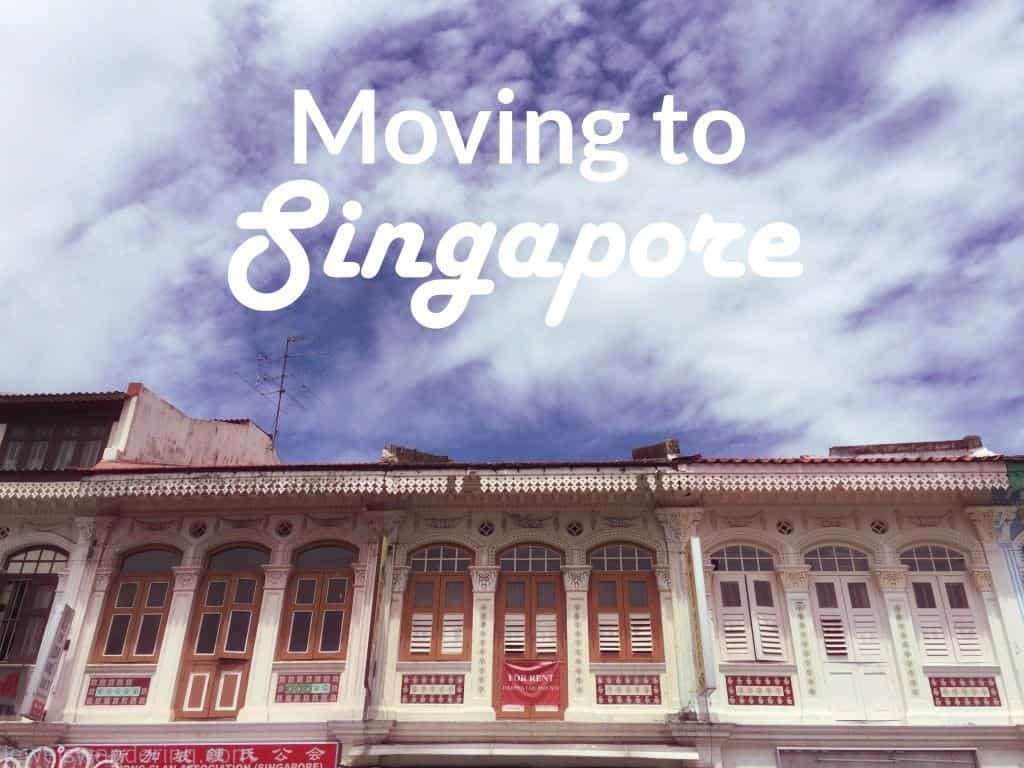 Moving to Singapore