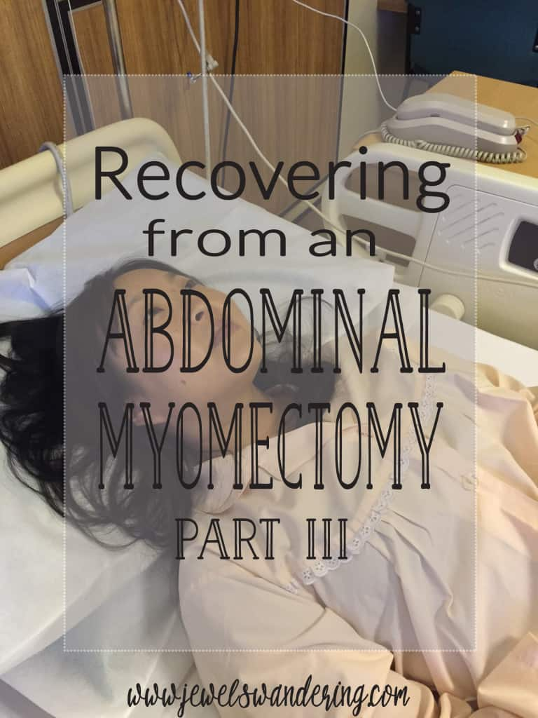 Abdominal Myomectomy; Fibroids; Exercise