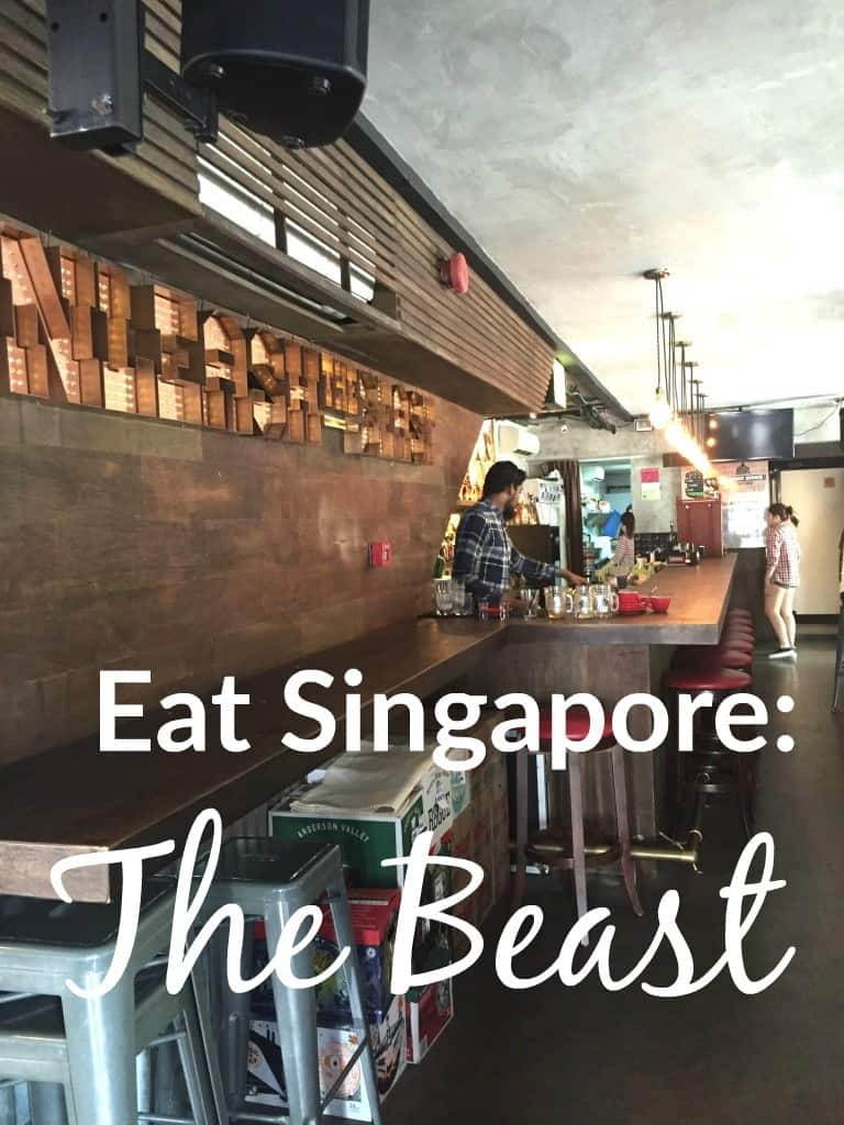 The Beast, Singapore, Restaurants