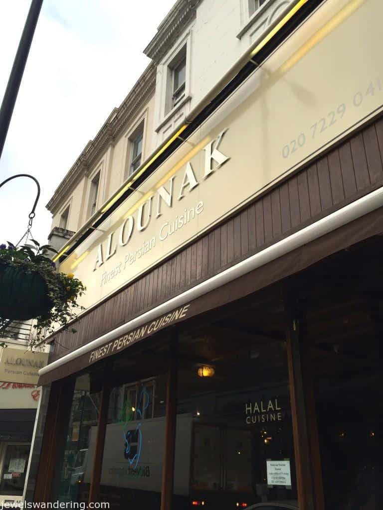 Alounak, London, Persian Food