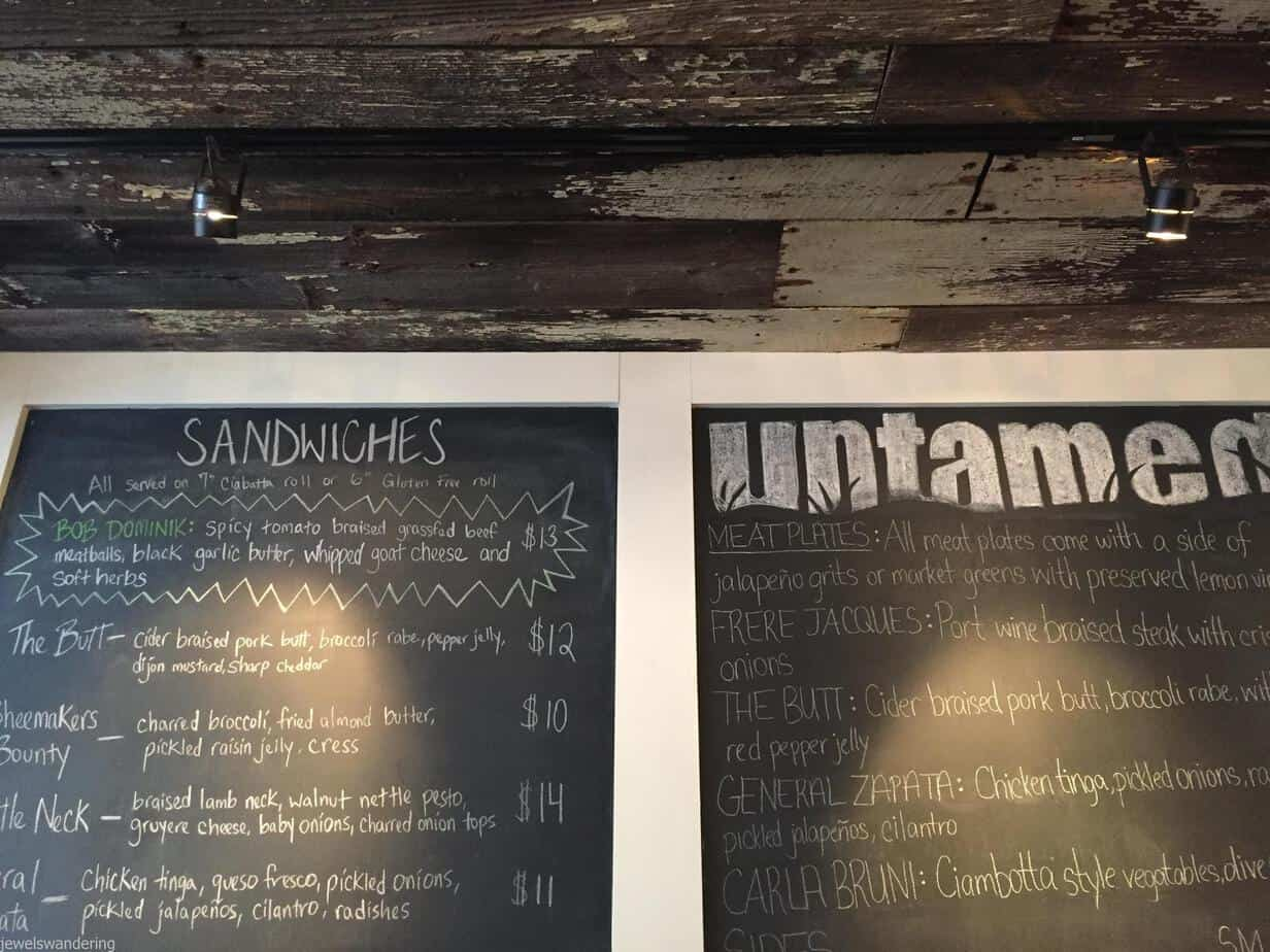 Untamed Sandwiches, NYC
