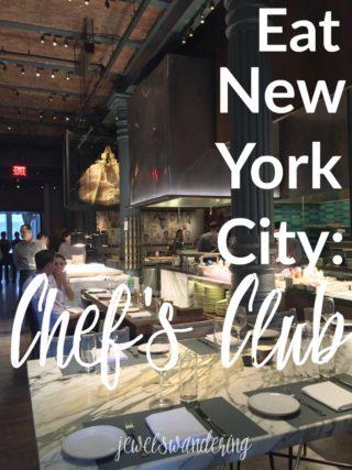 Chef's Club, New York