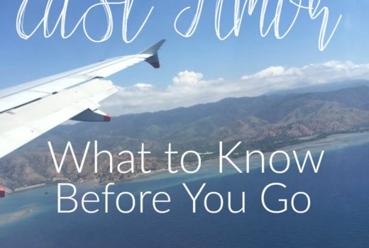 East Timor What to Know