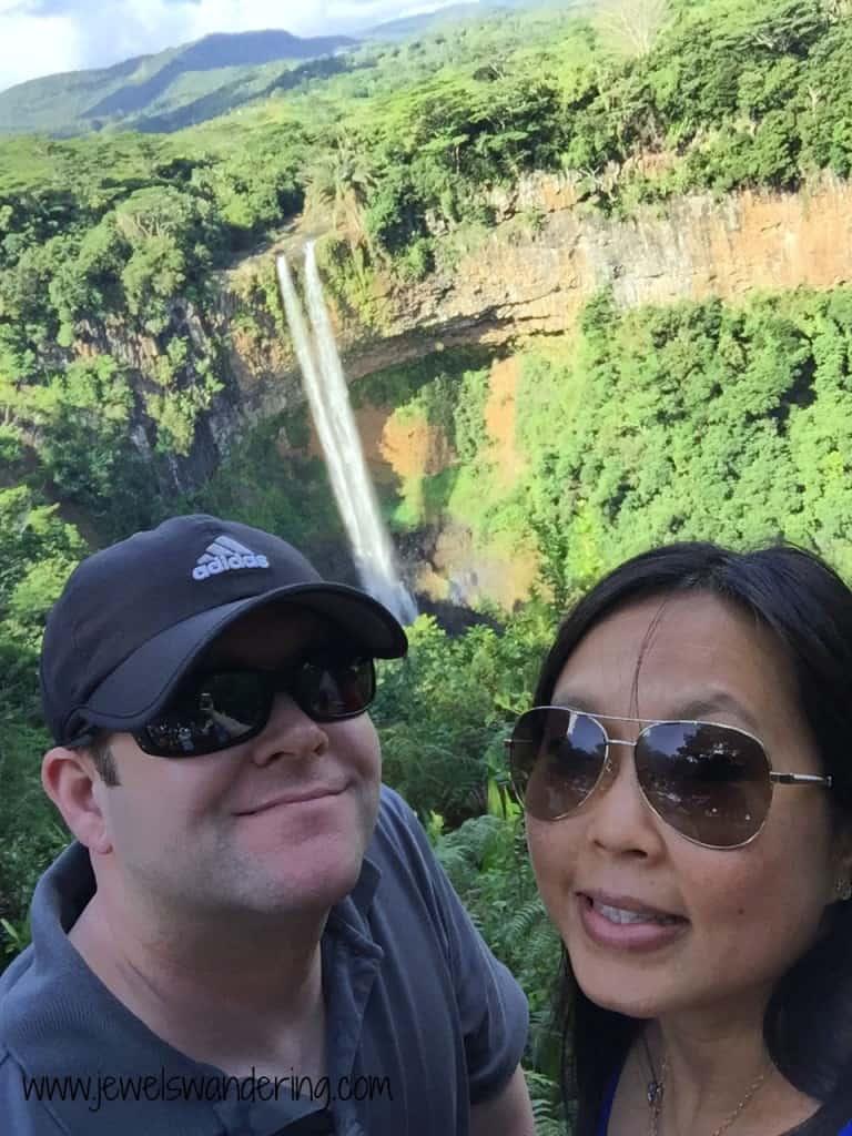 Mauritius, Chamarel Waterfall, Travel