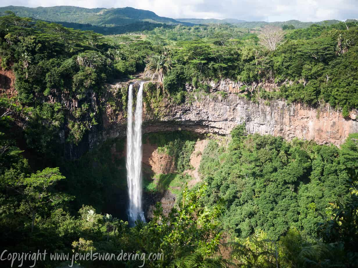 Mauritius, Chamarel Waterfall