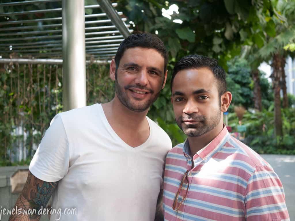 Thomas and Bhavesh