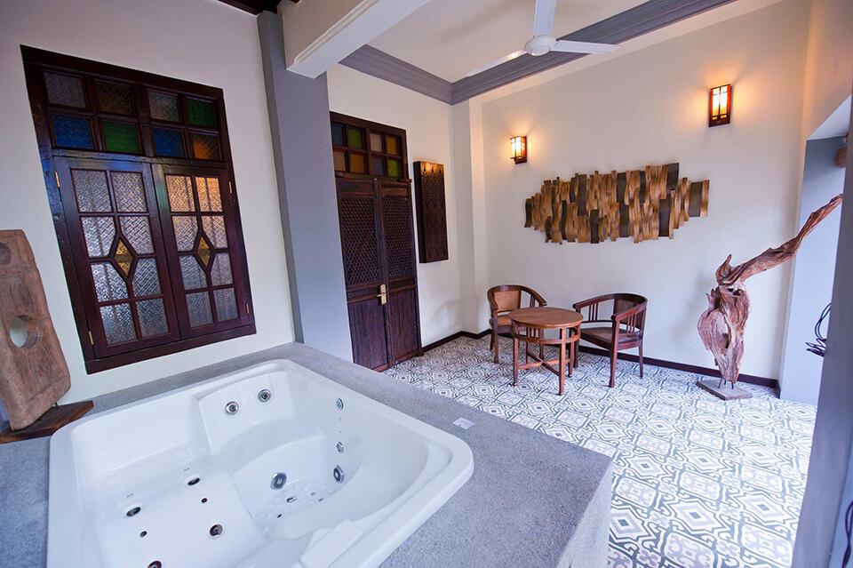 Hotel Penag Clarke Terrace Jacuzzi