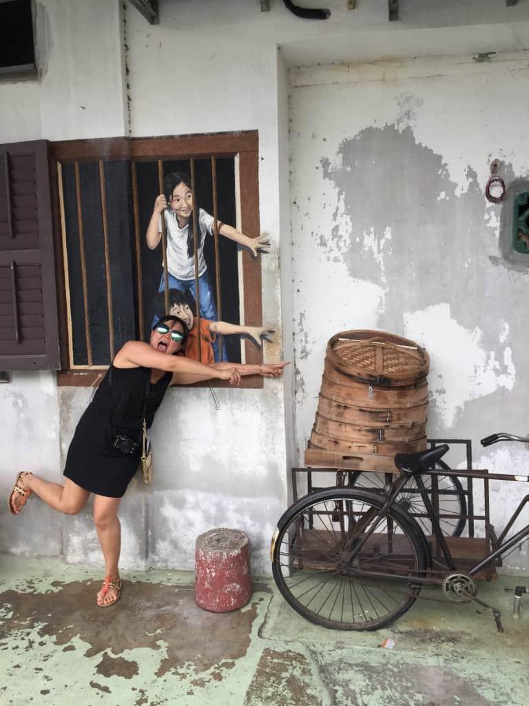 Street Art, Penang, George Town, Malaysia