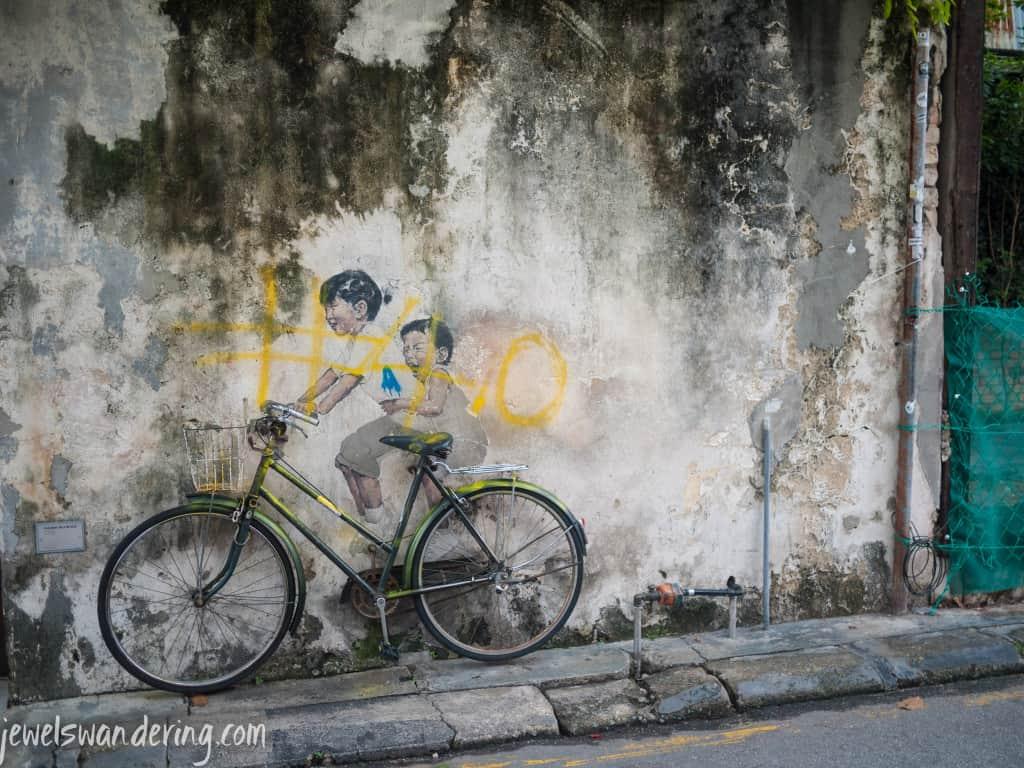 Street Art, Penang, Malaysia