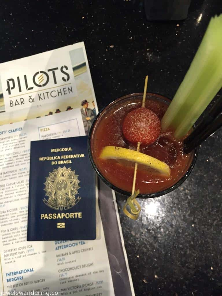 LHR, Bloody Mary, Jet Setting