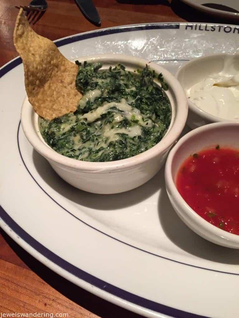 Hillstone, New York, Spinach and Artichoke Dip