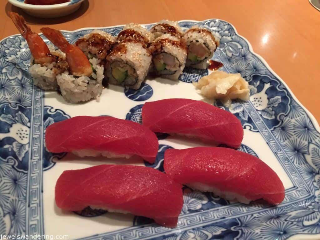 Sushi Den, New York, Maguro