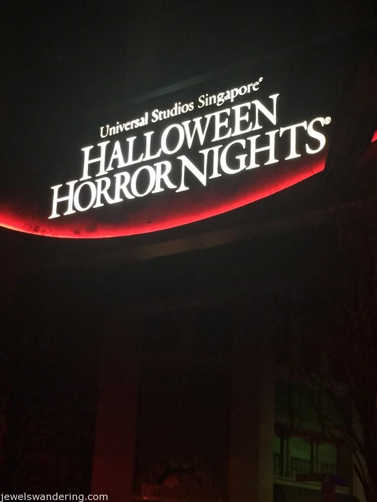 Halloween Horror Nights; Universal Studios; Singapore; Sentosa