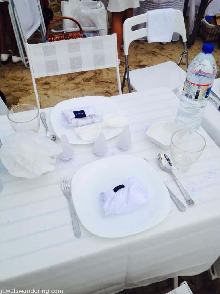 Diner en Blanc, Singapore, Tanjong Beach
