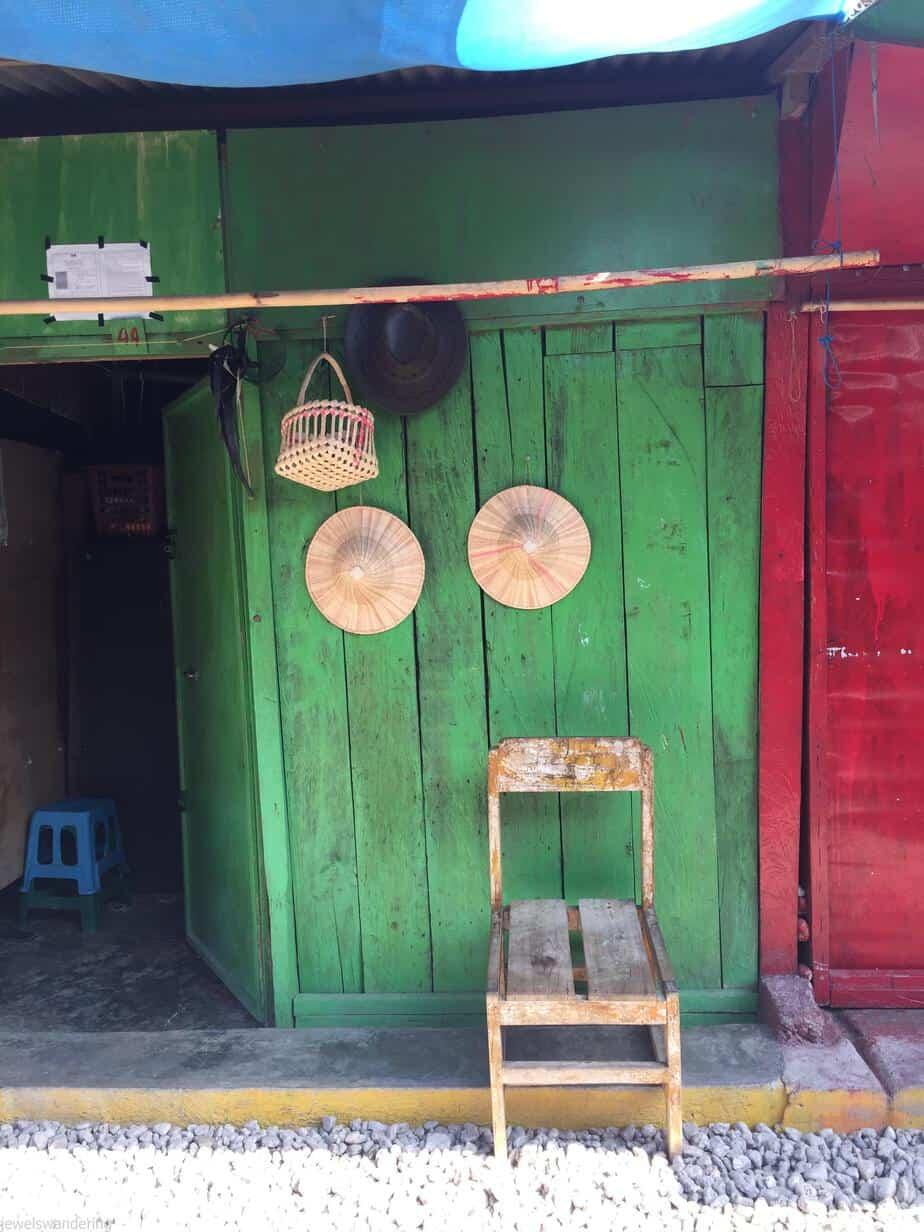 East Timor Tais Market