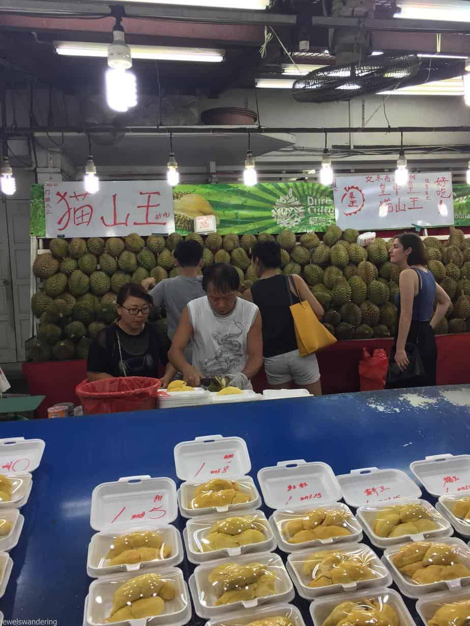 Durian Tasting