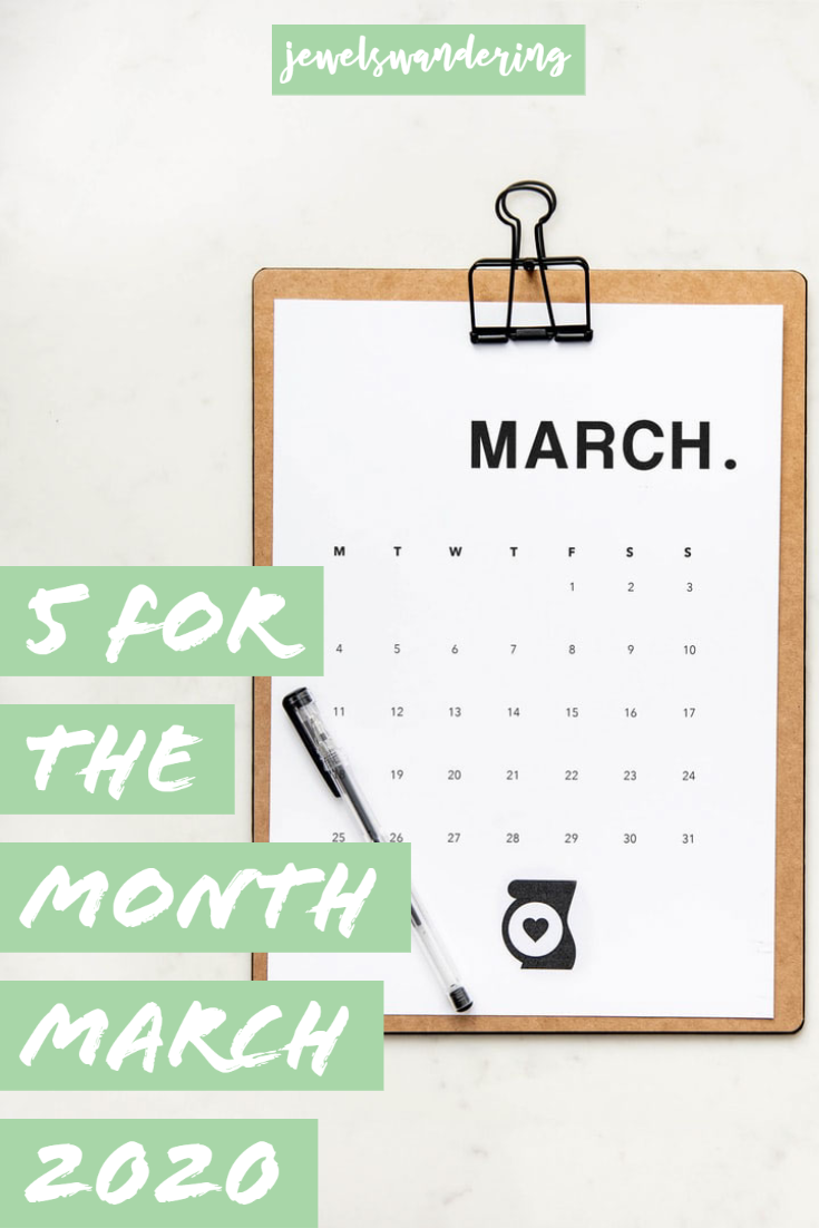 March calendar on a clipboard