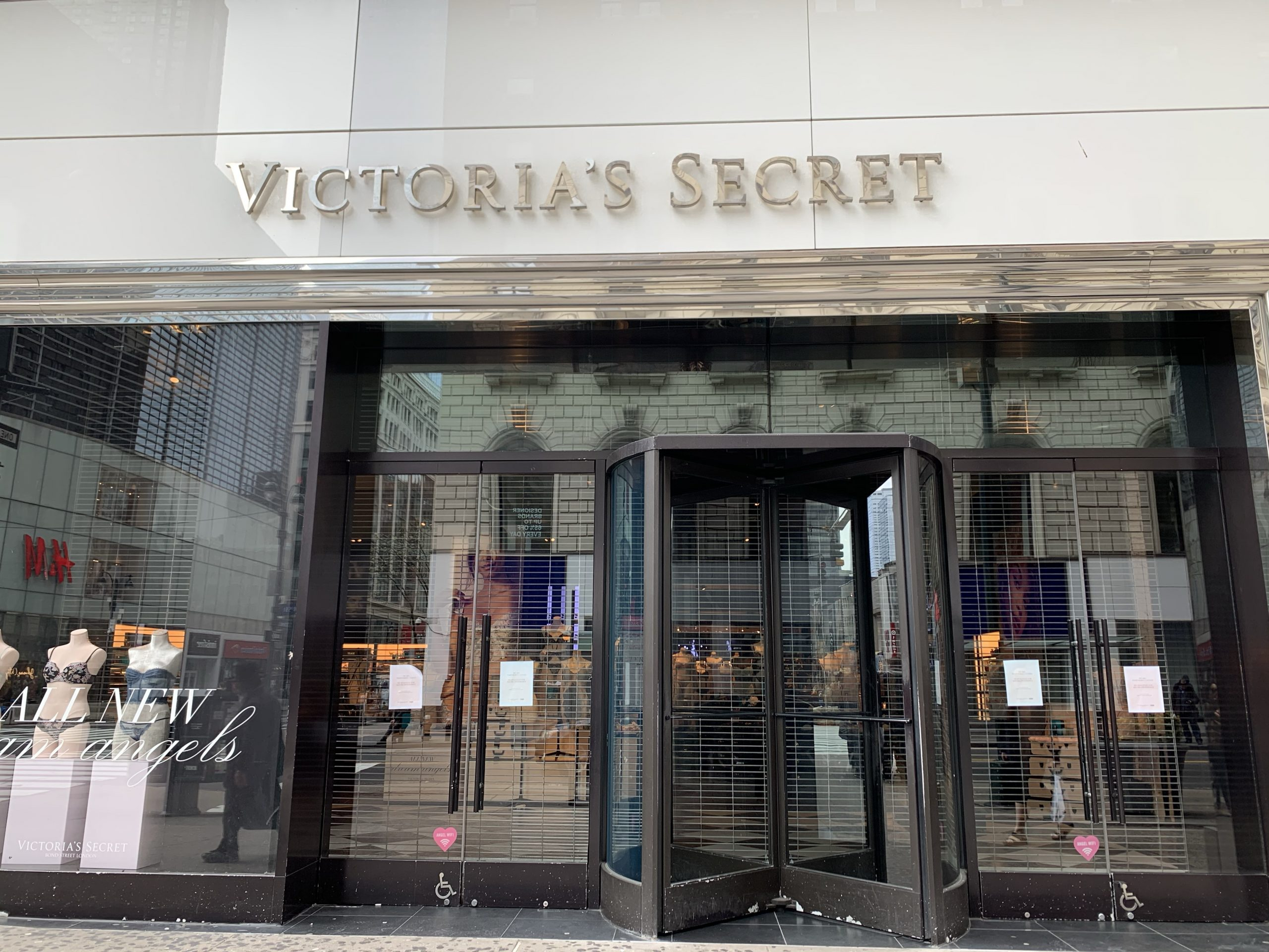 Closed Victoria Secret Storefront