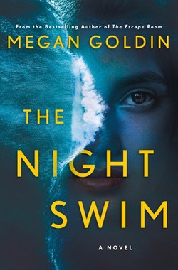 Book cover of The Night by Megan GoldinSwim by