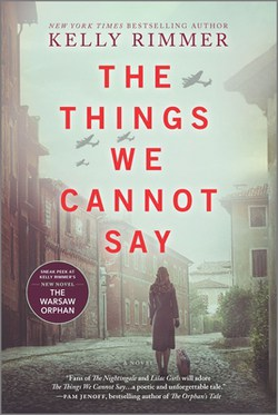 The Things We Cannot Say by Kelly Rimmer book cover
