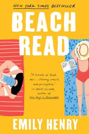 Book cover of Beach Read by Emily Henry